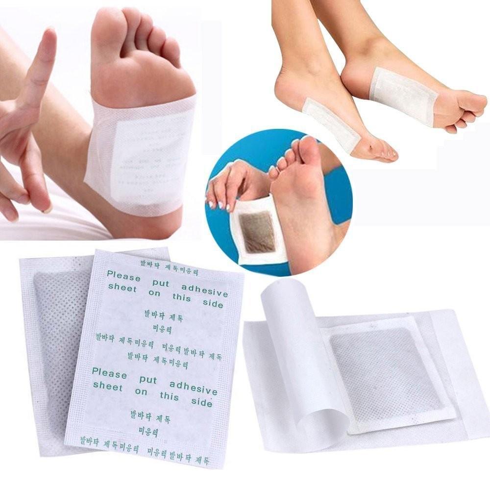 100-1000pcs detox foot pads patch detoxify toxins fit health care.