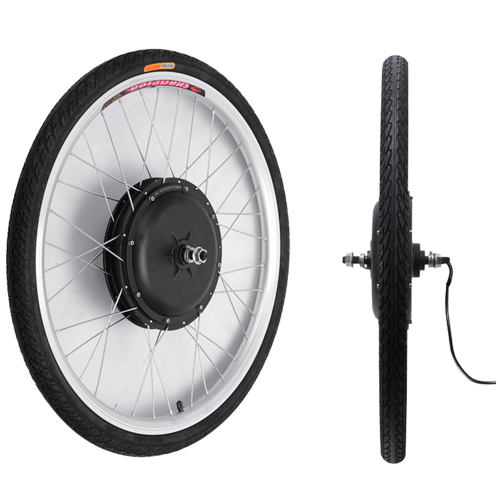 36v 500w 26 front wheel electric bicycle ebike motor. Black Bedroom Furniture Sets. Home Design Ideas