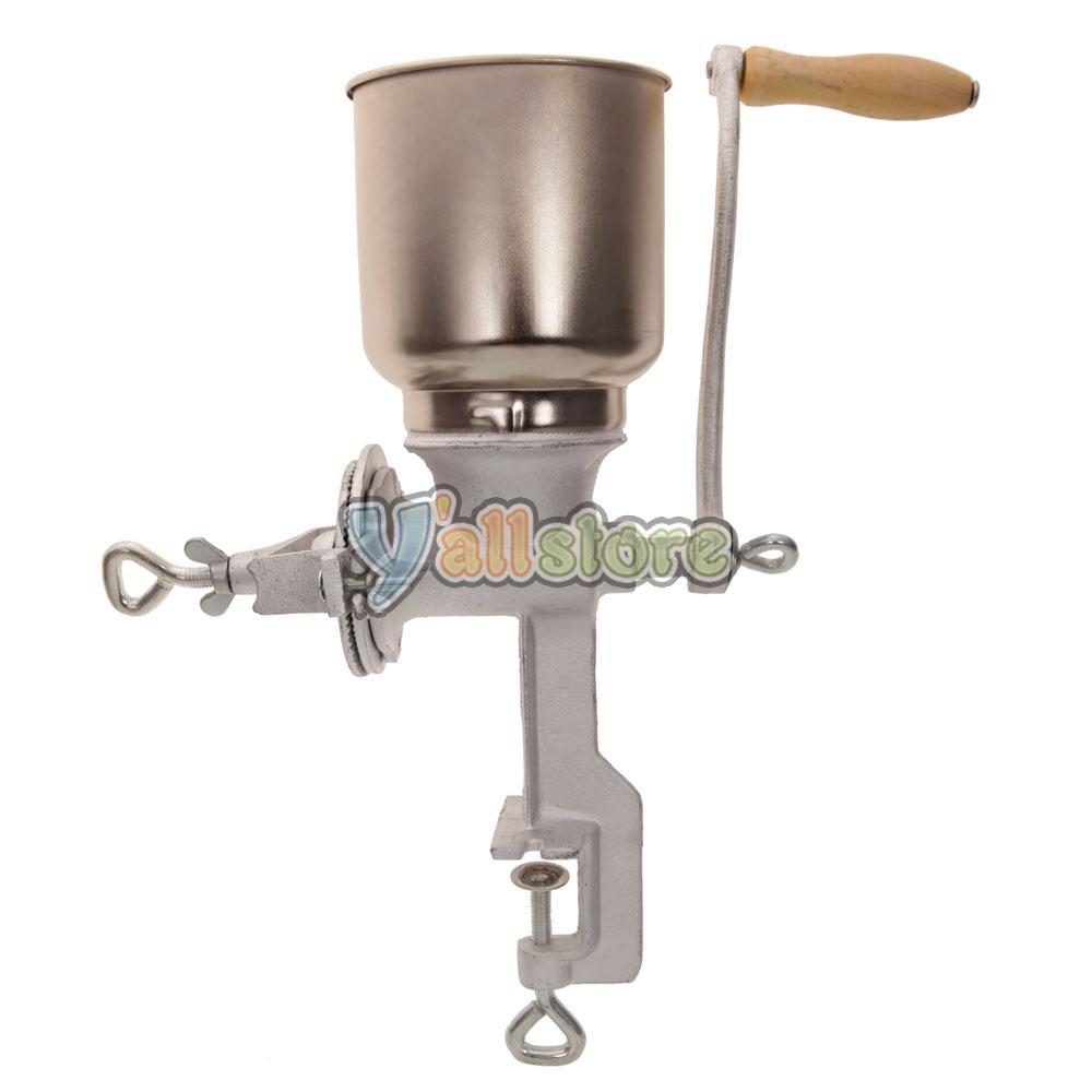 Kitchen Grinder: Manual Corn Grinder Flour Maker Wheat Grain Nut Mill