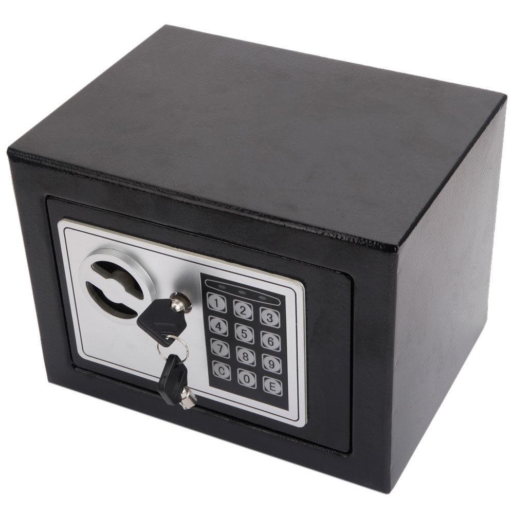 functiona electronic safe box keypad lock security home office gun valuables ebay. Black Bedroom Furniture Sets. Home Design Ideas