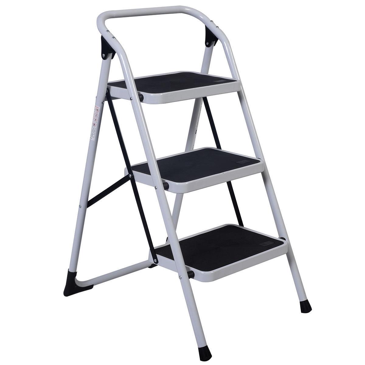 10 5 16 5ft Simple Aluminium Foldable Extension Ladder