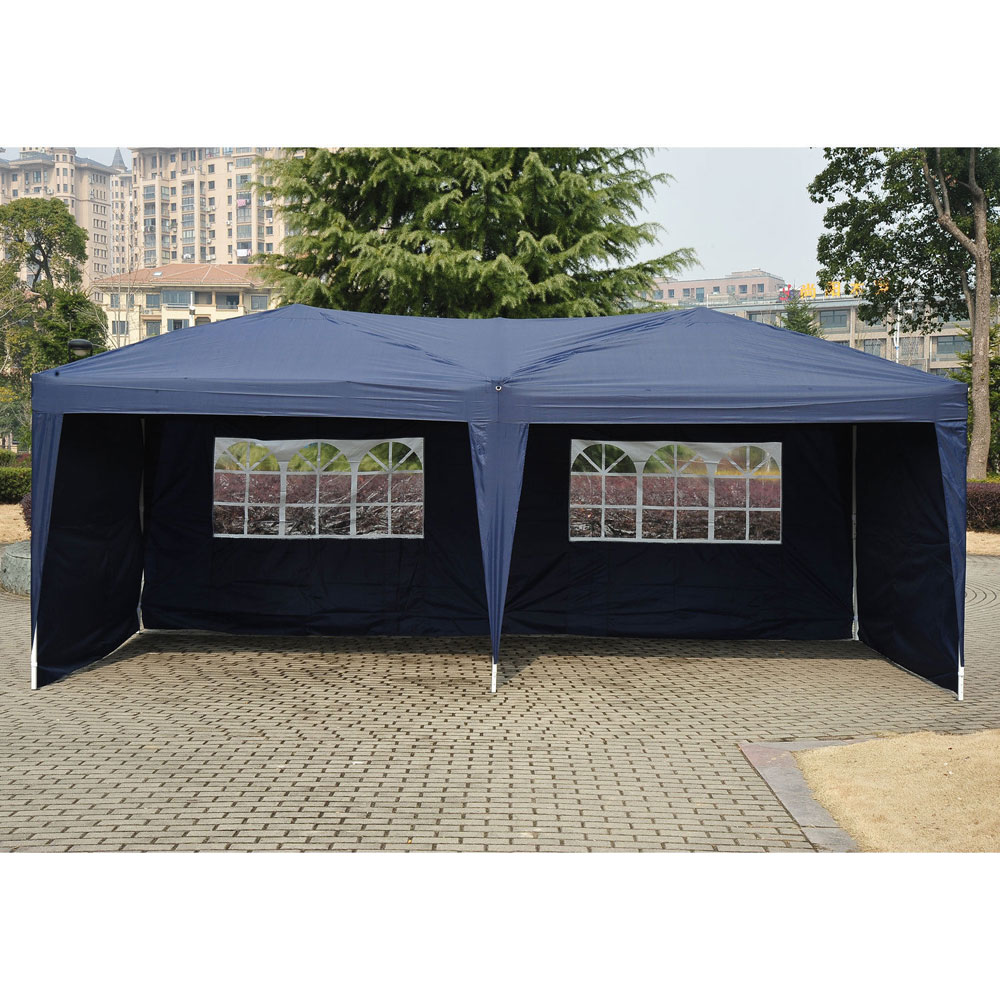 10 X20 Easy Pop Up Wedding Party Tent Foldable Gazebo