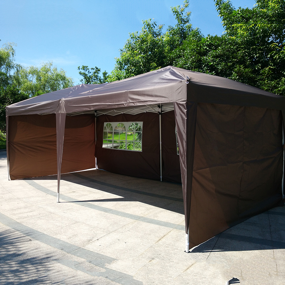 Pop Up Shelter Deck : X easy pop up wedding party tent foldable gazebo