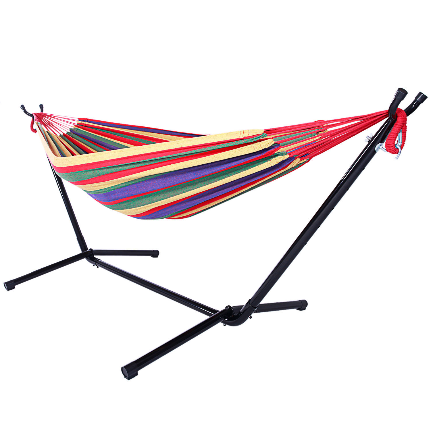 comfortable quechua two person id red hammock