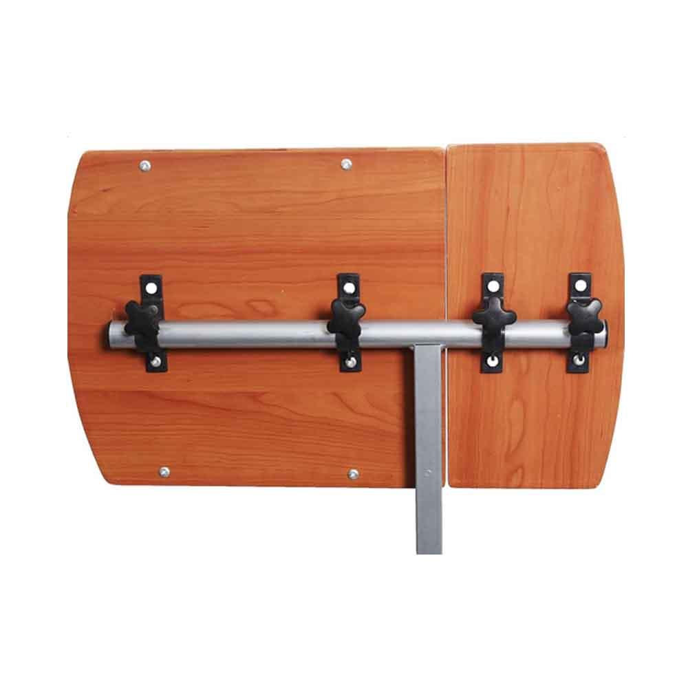 Modern Adjustable Angle Height Rolling Laptop Desk Cart