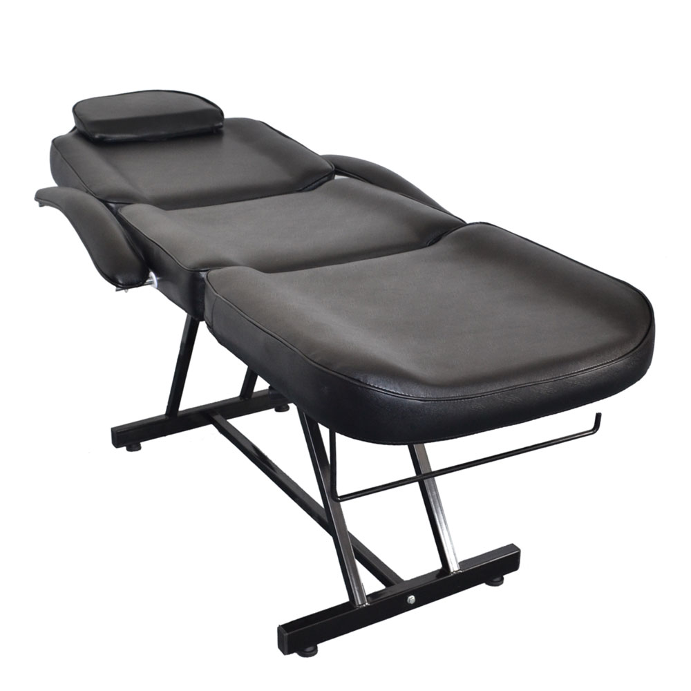 Massage Table And Chair salon spa black massage bed tattoo chair facial adjustable table