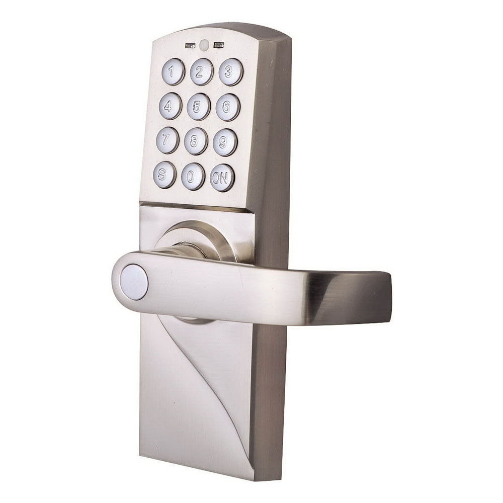 digital electronic code keyless keypad security entry door lock right handle ebay. Black Bedroom Furniture Sets. Home Design Ideas