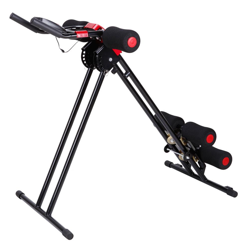 New AB Cruncher Abdominal Trainer Glider Machine Fitness ...