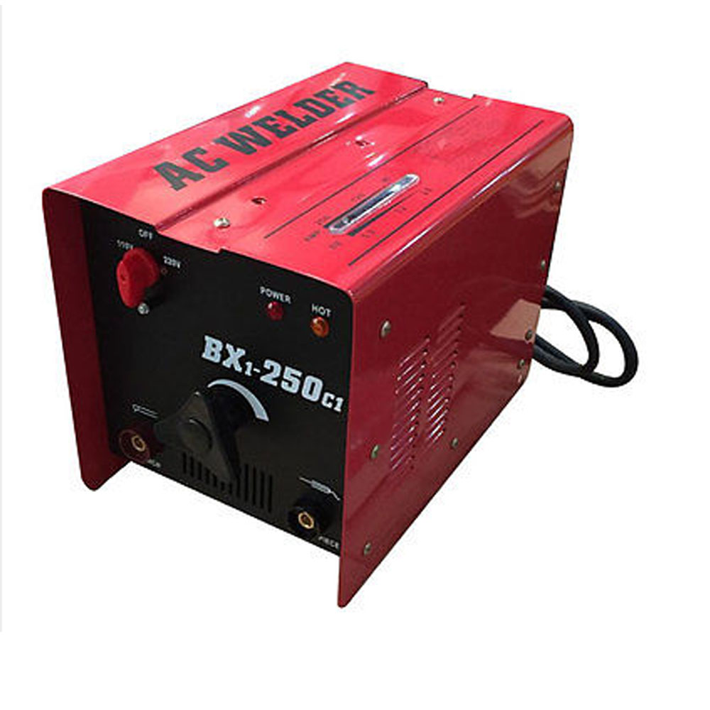 Bx1 250c1 Arc Welder 110 220v Ac Welding Machine 250 Amp Mask Image 50 Plug Wiring Download Accessories Red