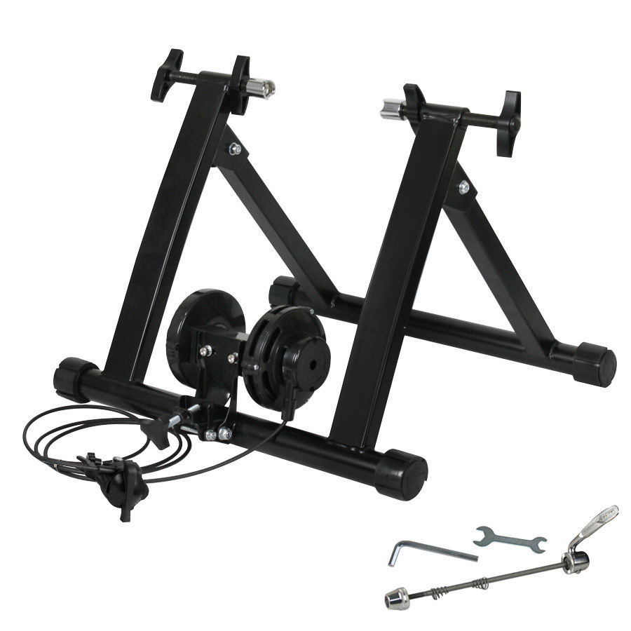 New Indoor Exercise Bike Bicycle Trainer Stand W 5 Levels