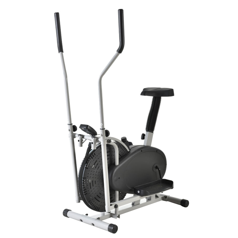 Elliptical Bike That Moves: Elliptical Exercise Indoor Trainer Workout Machine Fitness