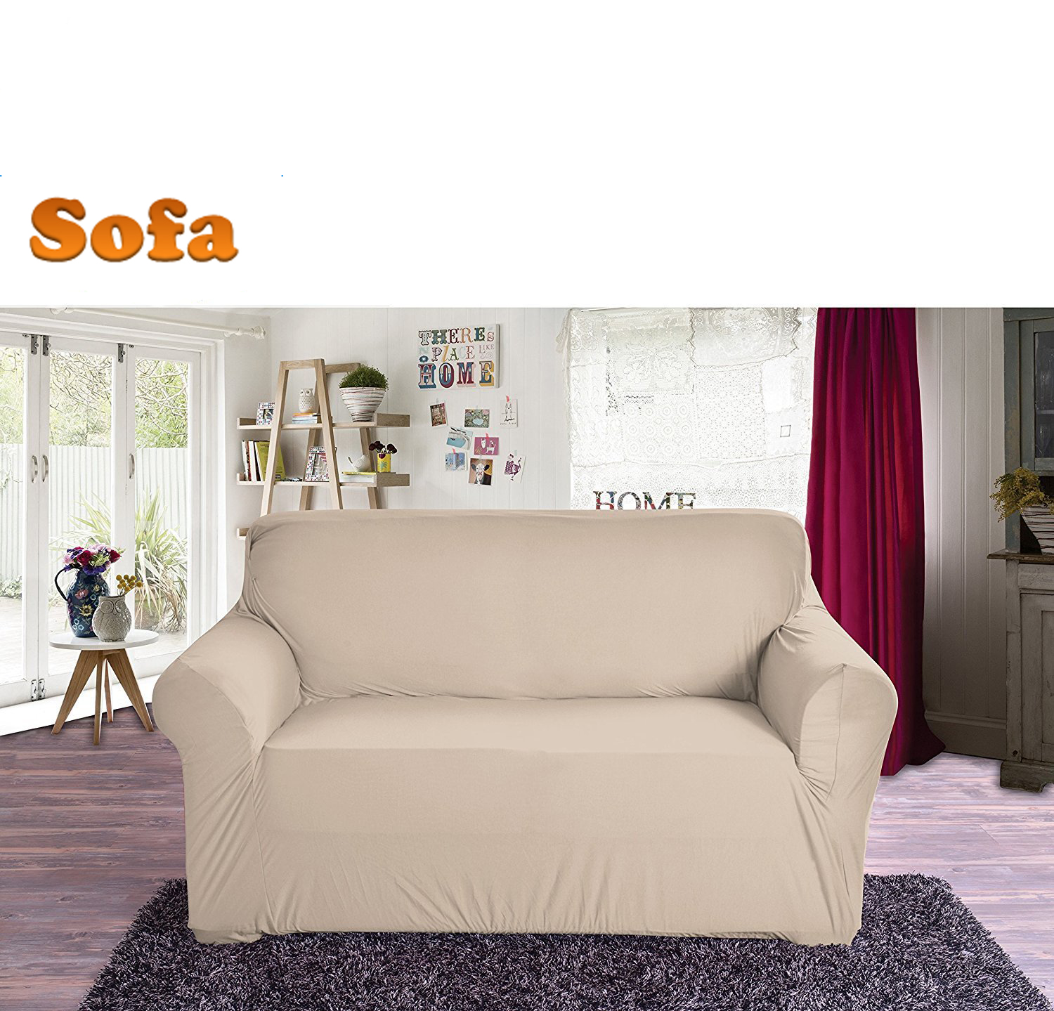 New Slipcover Stretch Sofa Cover Sofa With Loveseat Chair: New Slipcover Stretch Sofa Cover Sofa With Loveseat Chair