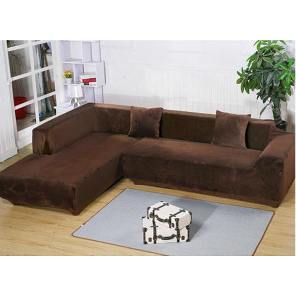 Durable Stretch Elastic Fabric Sofa Cover Sectional Corner