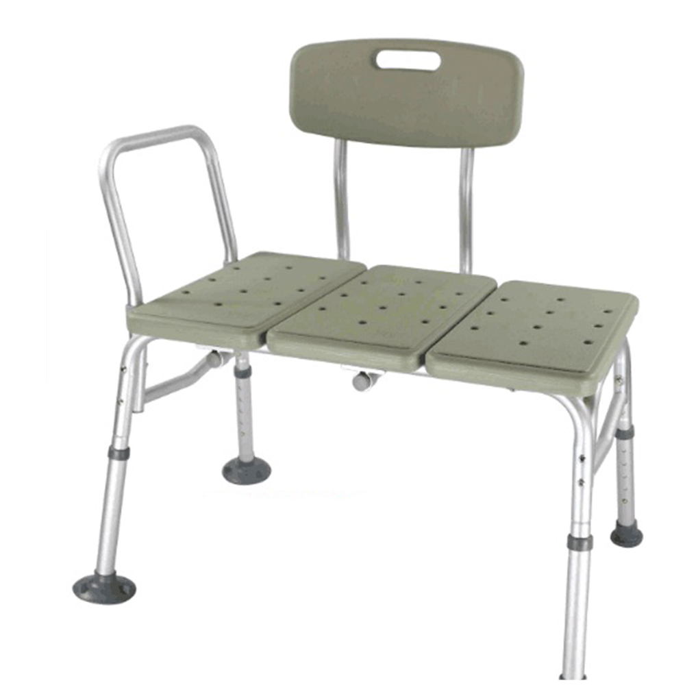 Adjustable 10 Height Bath Shower Chair Medical Bathtub