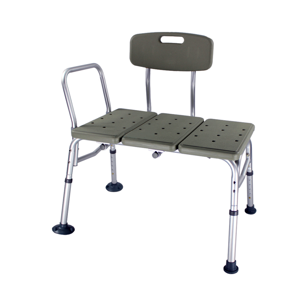 Details About Adjustable 10 Height Bath Shower Chair Medical Bathtub Stool  Seat Transfer Bench