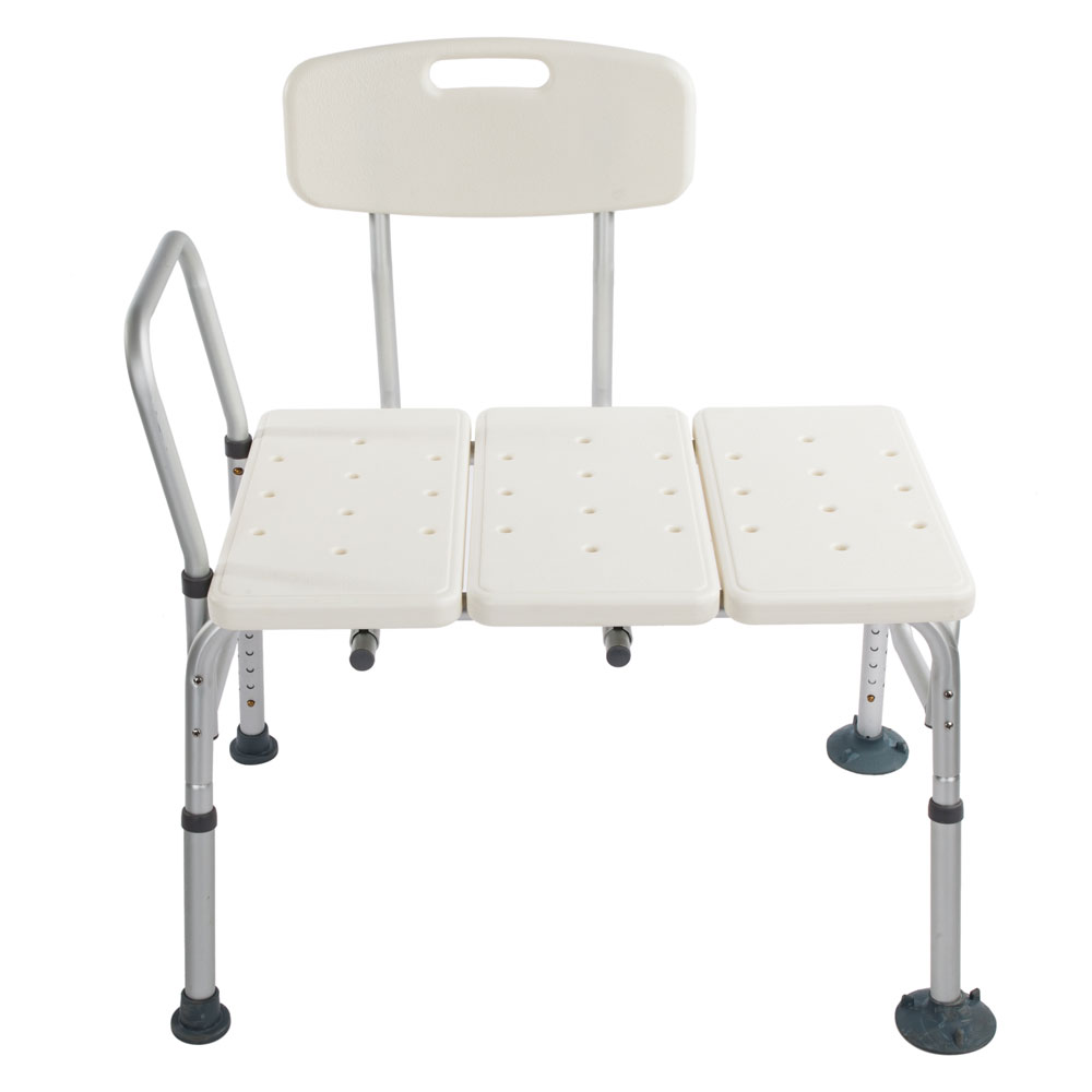 Medical Shower Chair 10 Adjustable Height Bath Tub Bench Stool Seat ...