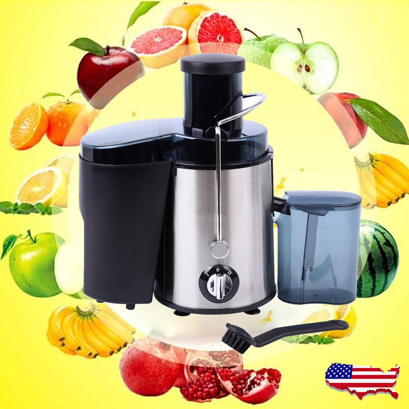 800w Electric Fruit Vegetable Juicer Extractor Juice Maker