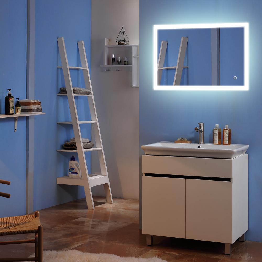 Montaje En Pared Led Espejo De Bano Vanidad Muebles De Luz Espejo