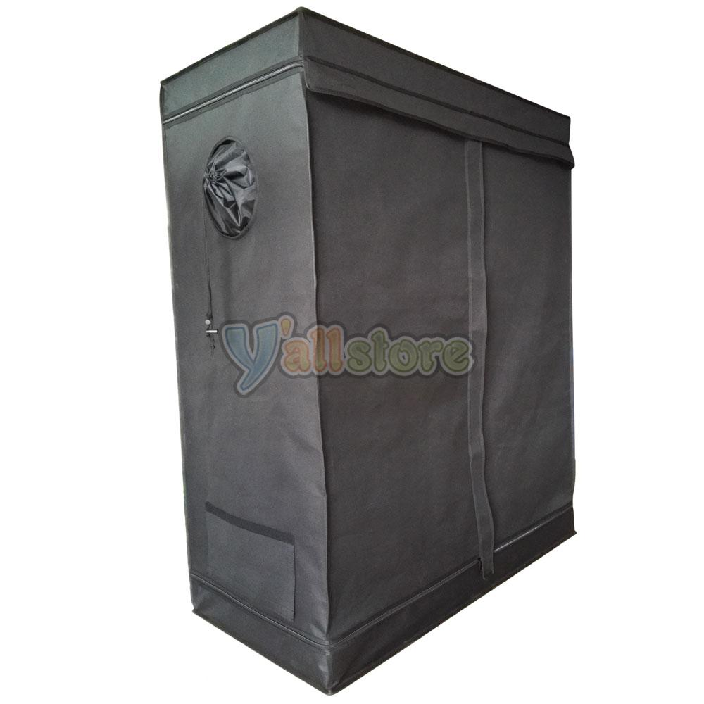 48 x24 x60 grow tent room reflective mylar hydroponic for Indoor gardening reflective material
