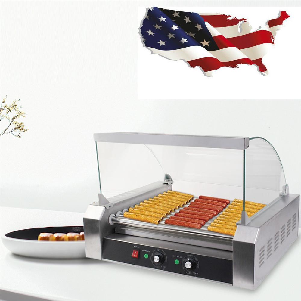 Commercial Hot Dog 7 Roller Amp 11 Roller Grill Cooker