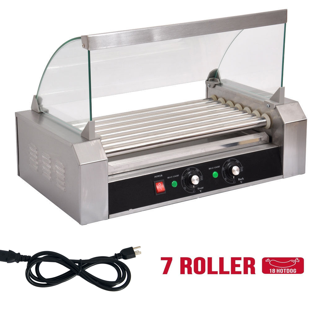 commercial hot dog 7 roller 11 roller grill cooker. Black Bedroom Furniture Sets. Home Design Ideas