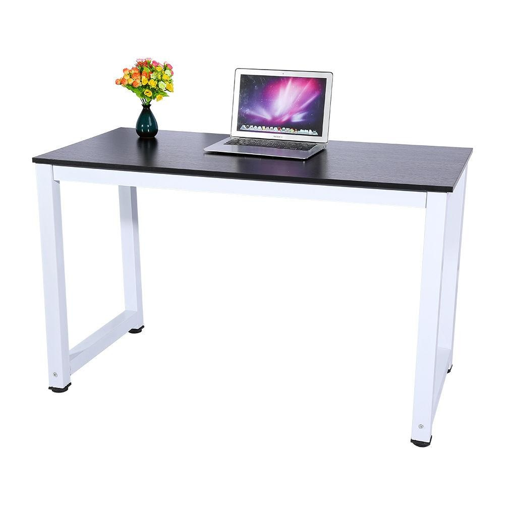 Computer desk pc laptop table wood workstation study desk for All wood computer desk