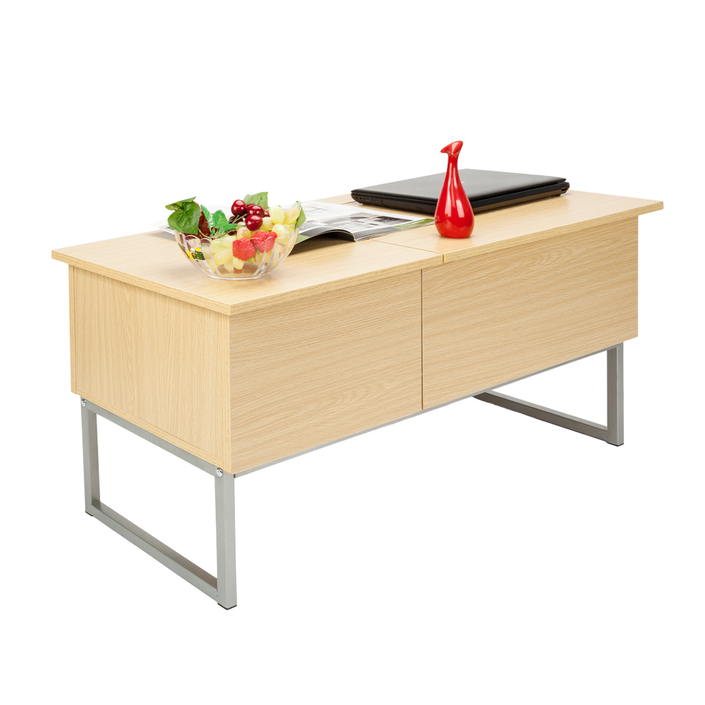 Coffee Table With Tray Top: Foldable Wood Lift Top Coffee Table Tea Desk Storage Tray