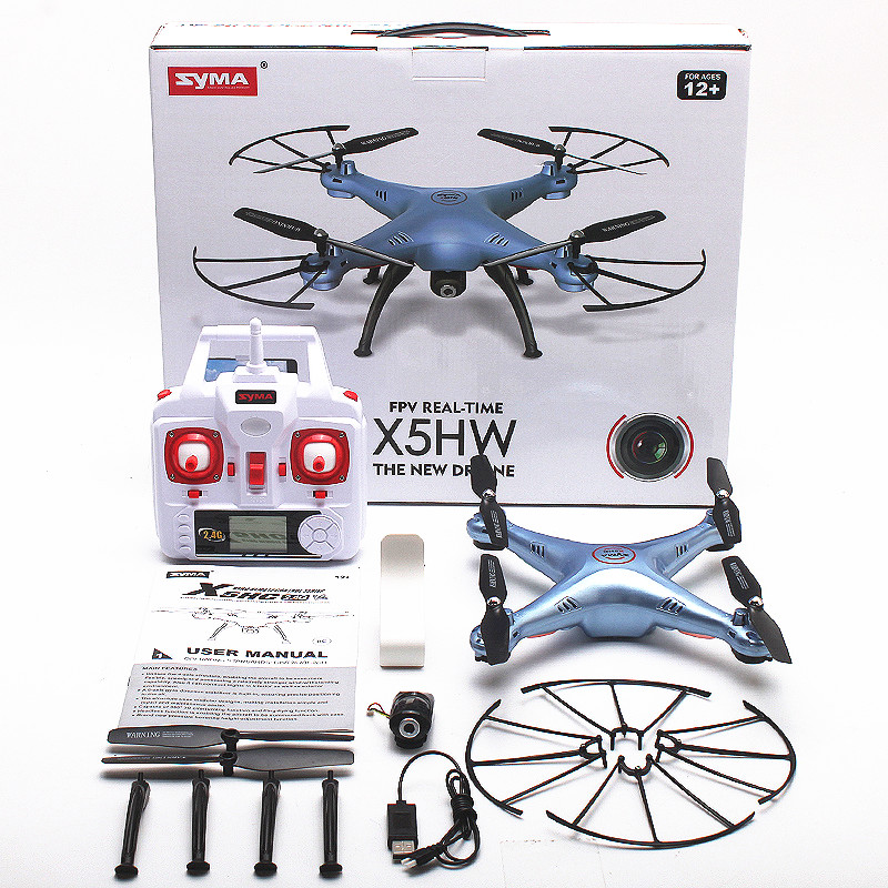 Syma x5hw fpv 4ch rc quadcopter drone with hd wifi camera hover syma x5hw fpv 4ch rc quadcopter drone with hd wifi camera hover function blue fandeluxe Gallery