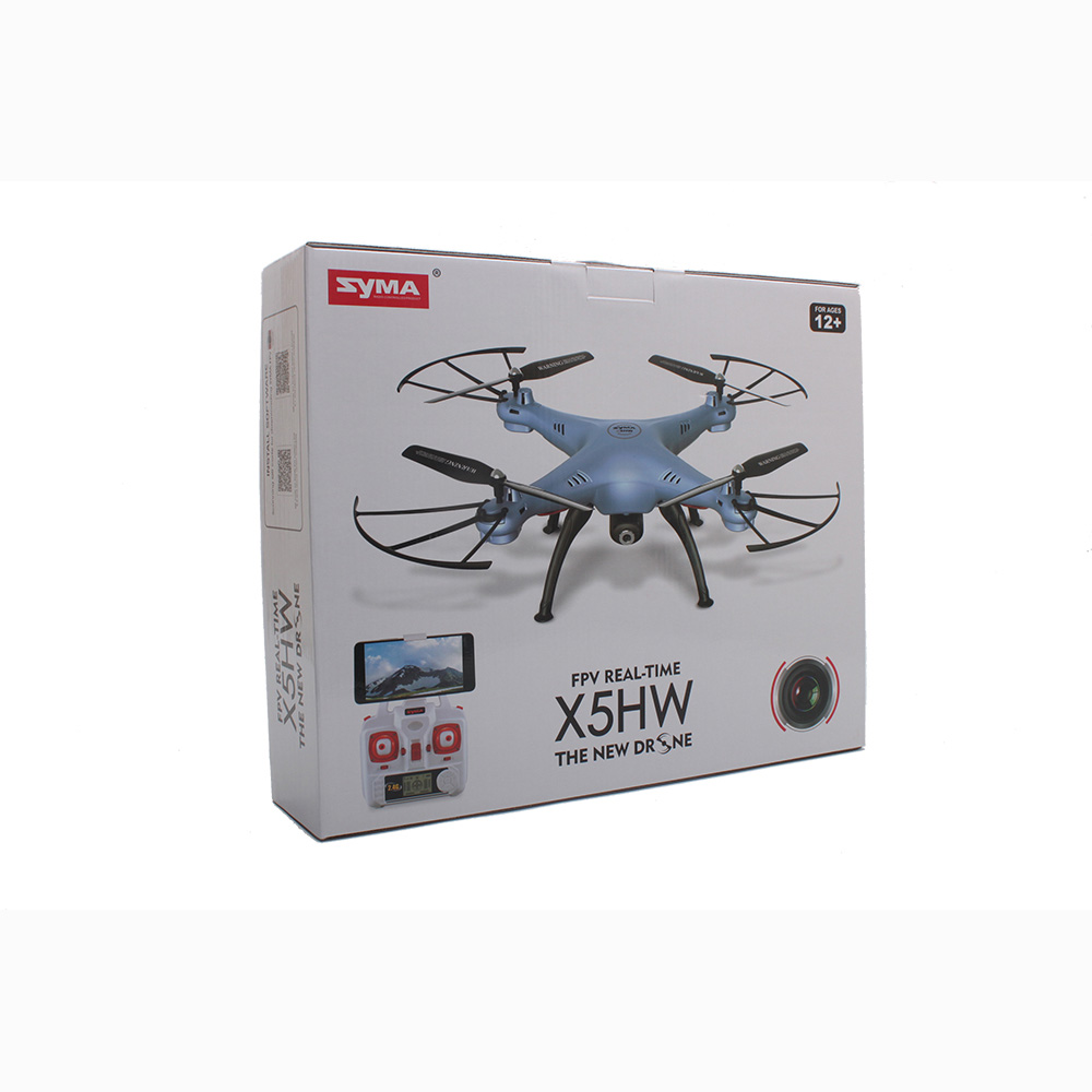 Syma x5hw fpv 4ch rc quadcopter drone with hd wifi camera hover syma x5hw fpv 4ch rc quadcopter drone with hd wifi camera hover function blue fandeluxe Image collections