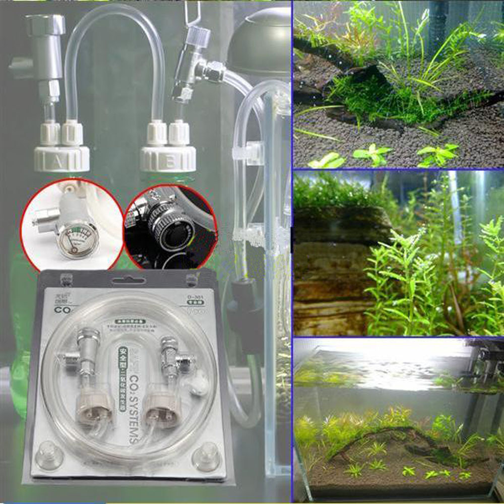 Aquarium fish tank co2 carbon dioxide generator system - Professional D301 Aquarium Water Plants Diy Co2 Generator System Kit