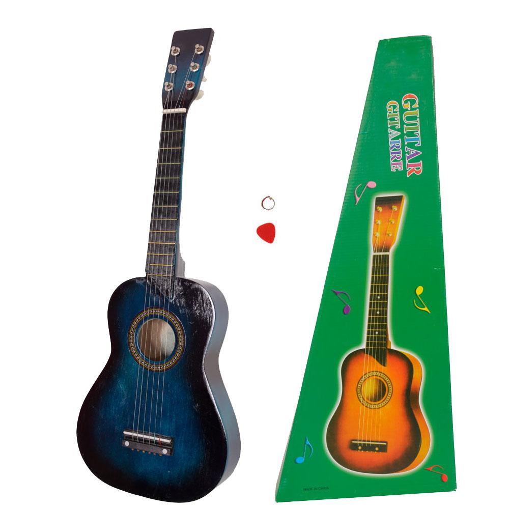 25 children kids 6 string acoustic guitar beginner practice musical instrument ebay. Black Bedroom Furniture Sets. Home Design Ideas
