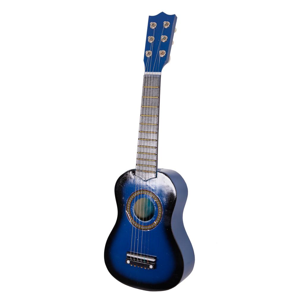 21 kids gift beginners practice acoustic guitar pick 6 string black wood ebay. Black Bedroom Furniture Sets. Home Design Ideas