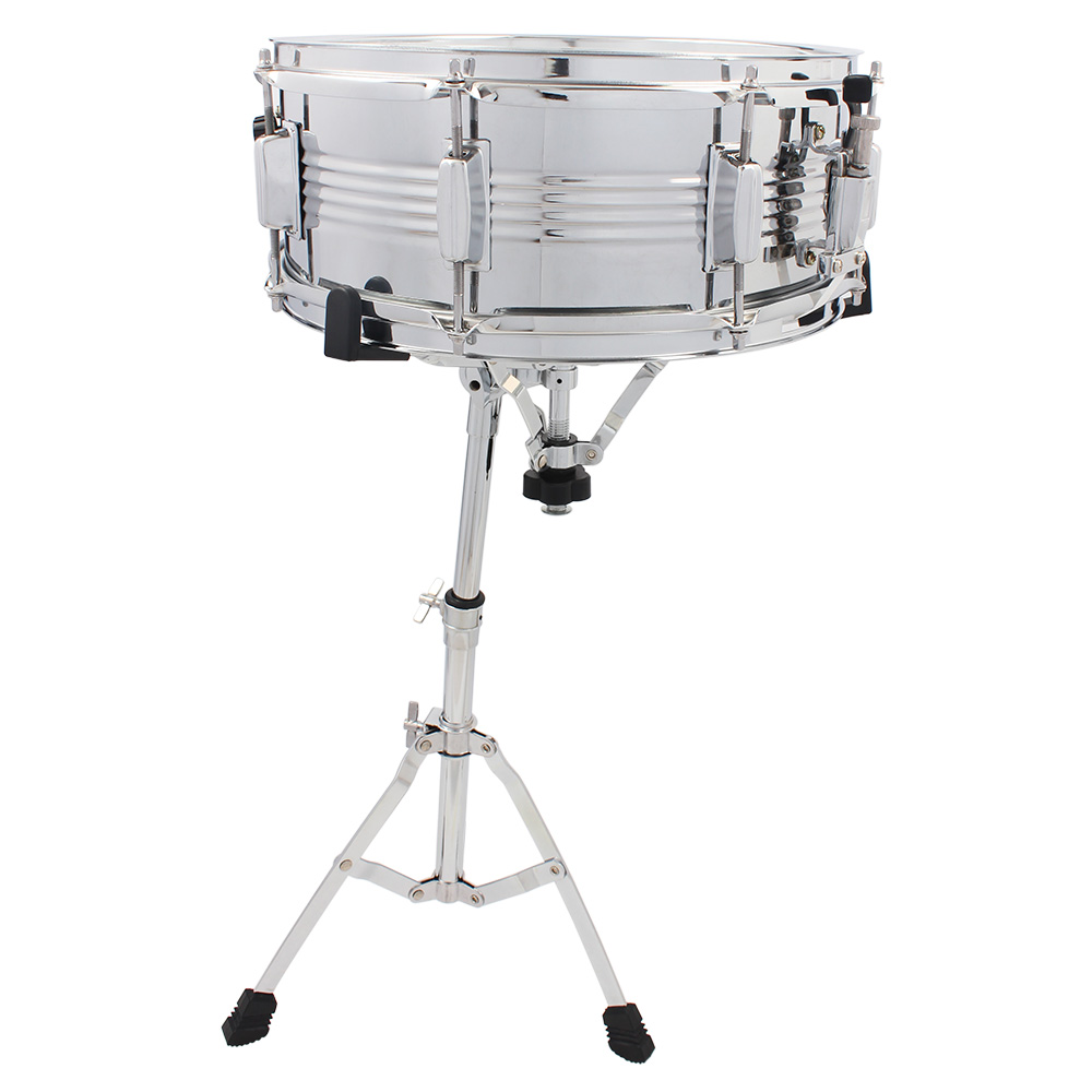 Snare Drum Stand Heavy-Duty Hardware Double Braced Chrome ...