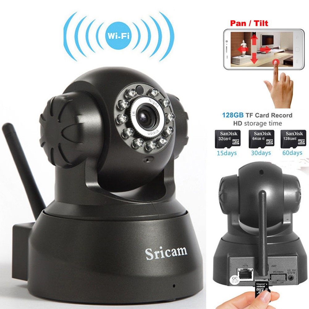 Wireless Network Baby Monitor Security IP Camera P2P