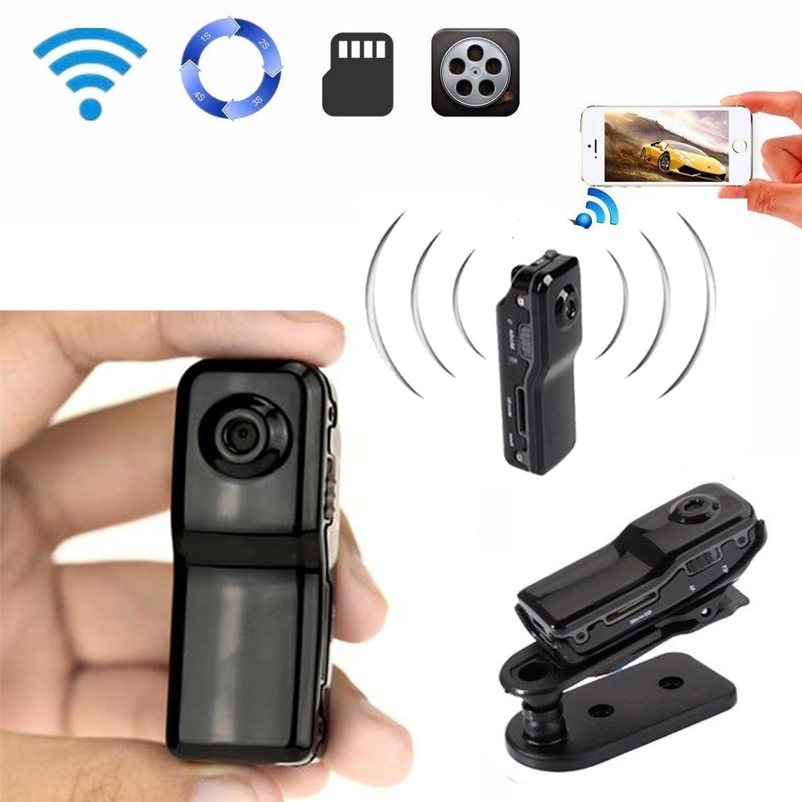 Mini Portable P2p Wifi Ip Camera Indoor Outdoor Hd Dv Hidden Spy Remote Camera Ebay