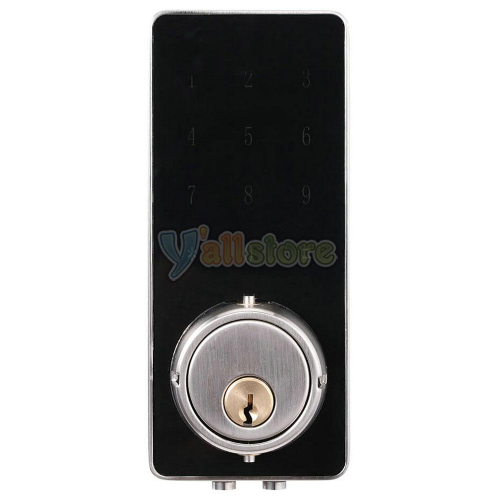 Bluetooth Smart Digital Door Lock Deadbolt Keyless Touch