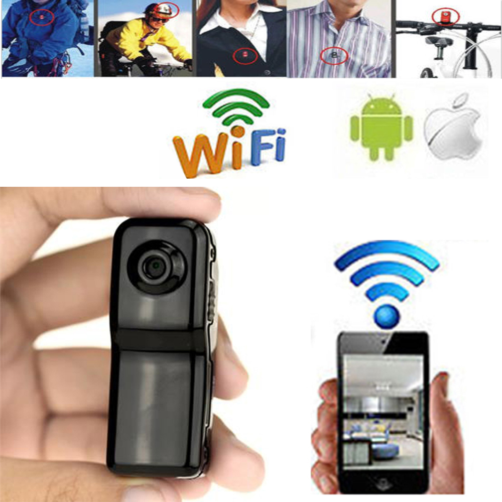 Wifi spy nanny cam wifi ip pinhole diy digital video for Microcamera wifi per iphone e android