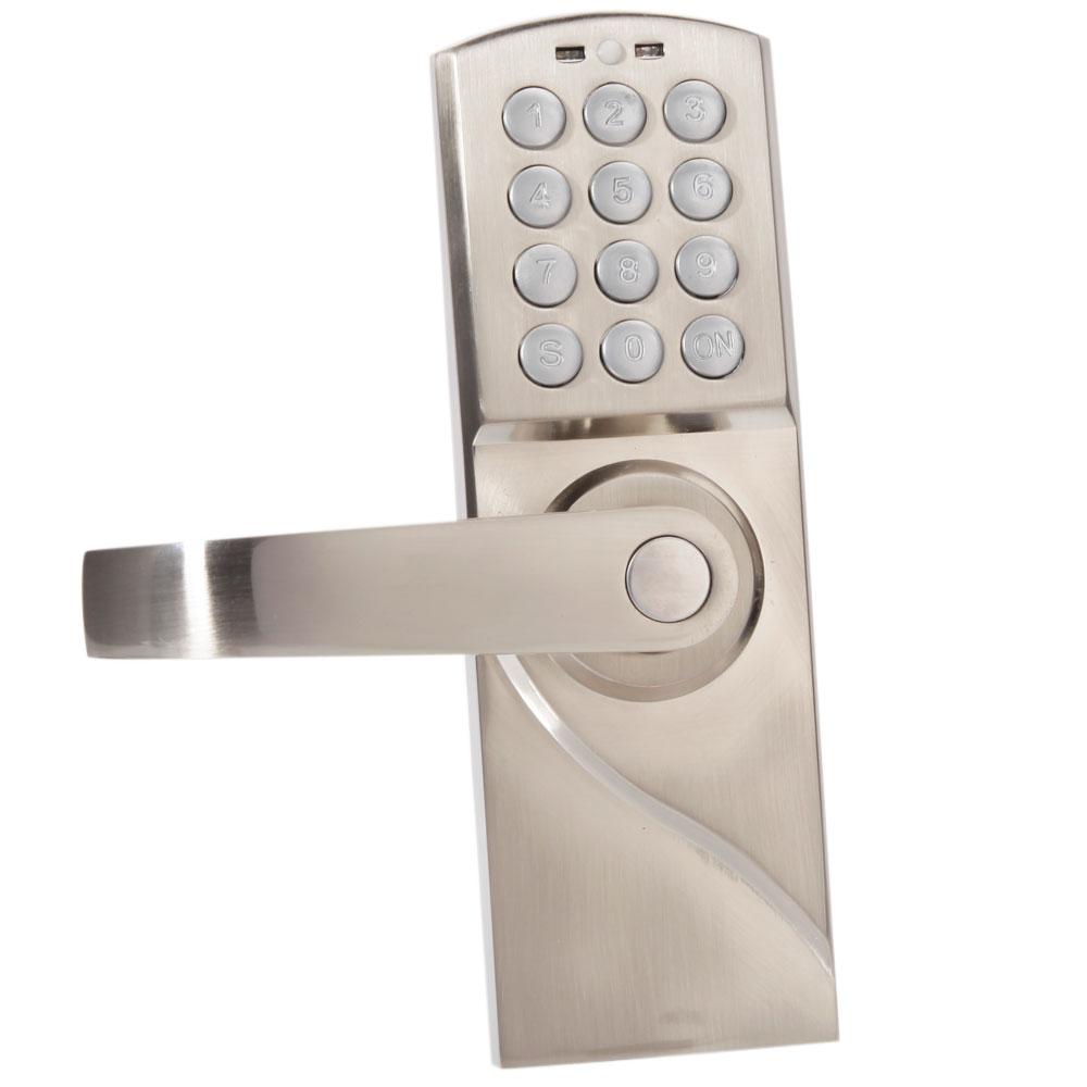 Ospon Os008c Digital Touchscreen Code Door Lock: Digital Electronic/Code Keyless Keypad Security Entry Door