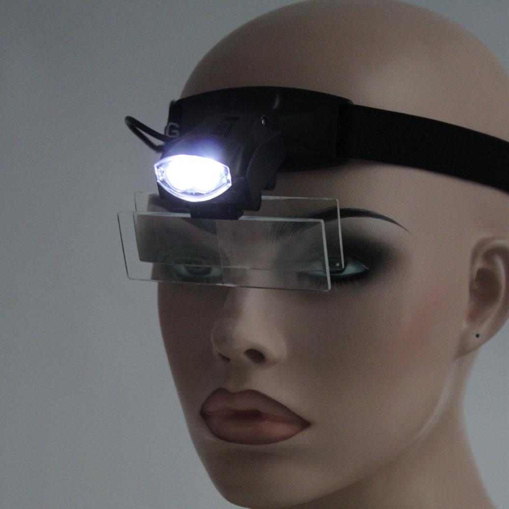5 Lens 1 3 5x Led Light Lamp Loop Head Headband Magnifier