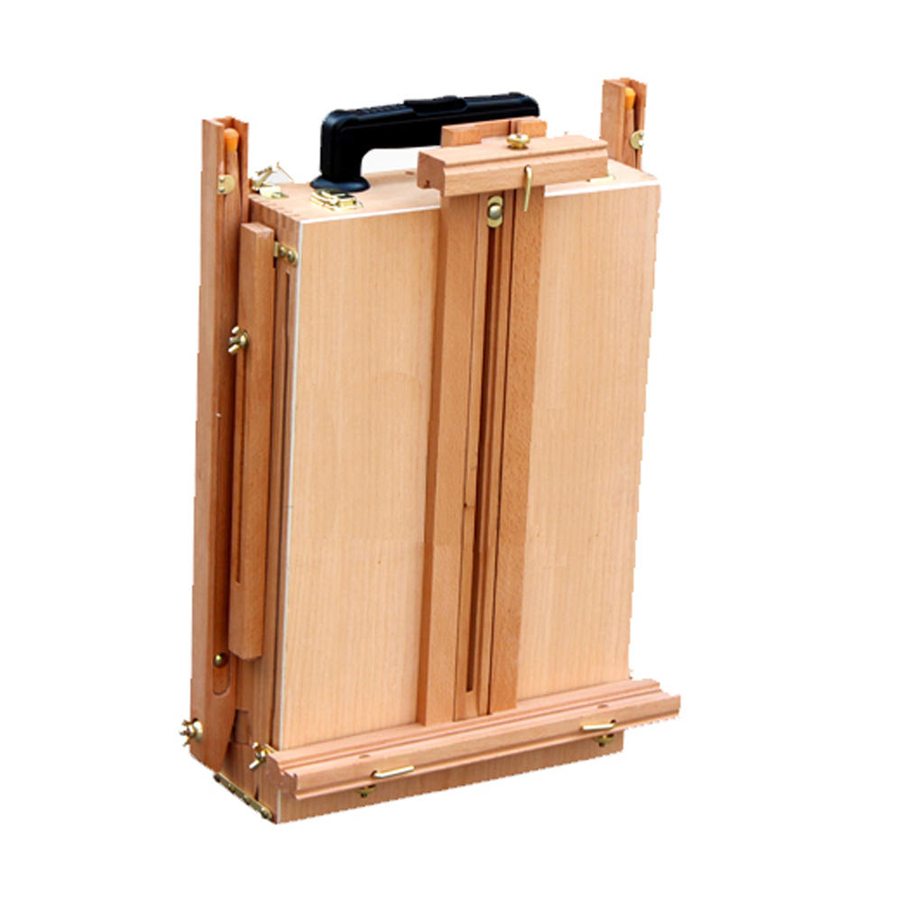 French Easel Wooden Sketch Box Portable Folding Art Artist