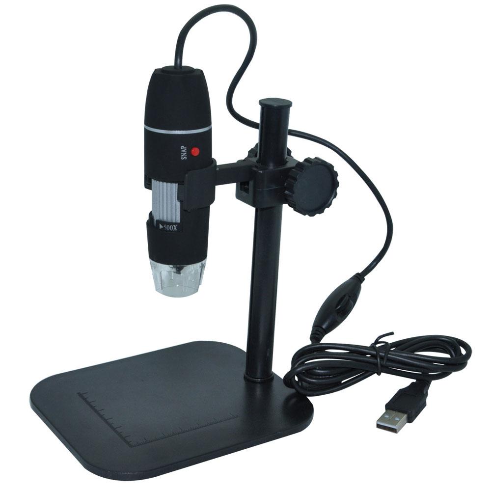 500x 2 0mp 8 Led Zoom Digital Usb Microscope Magnifier
