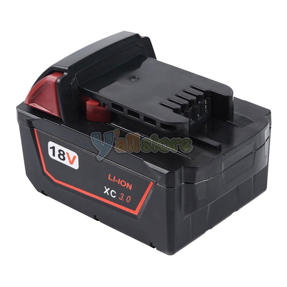18v volt li ion battery rechargeable for milwaukee 48 11 1840 m18 3 0ah 3000mah ebay. Black Bedroom Furniture Sets. Home Design Ideas