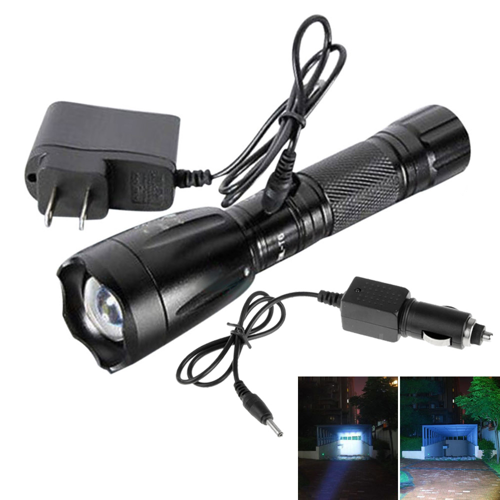 3000Lumen 5 Mode LED 18650 Rechargeable Flashlight Torch