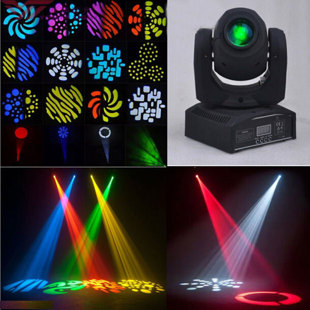 Led Wall Dj Light: 50W RGBW LED Stage Lighting Moving Head DMX DJ Disco Xmas