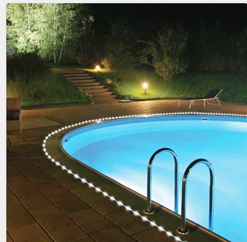 solar rope light 5m 50 led tube garden outdoor fairy. Black Bedroom Furniture Sets. Home Design Ideas