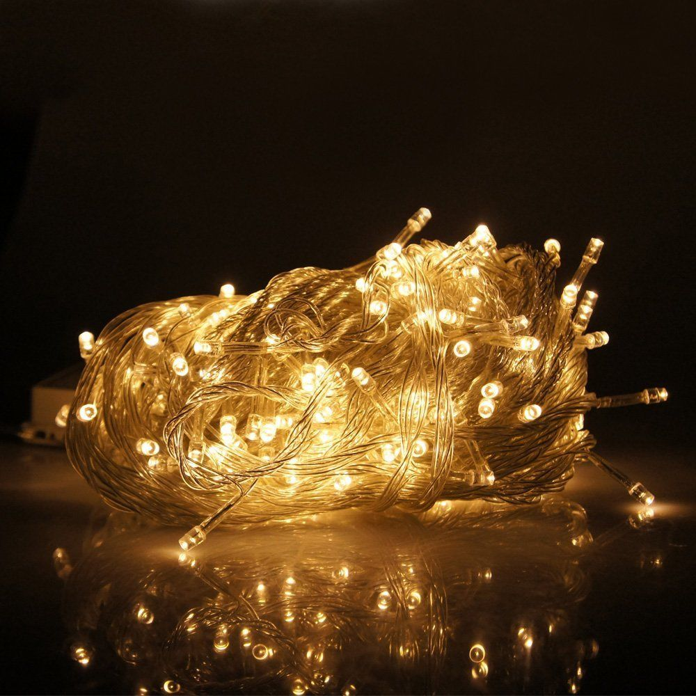 warm white 300 led fairy curtain string lights wedding. Black Bedroom Furniture Sets. Home Design Ideas