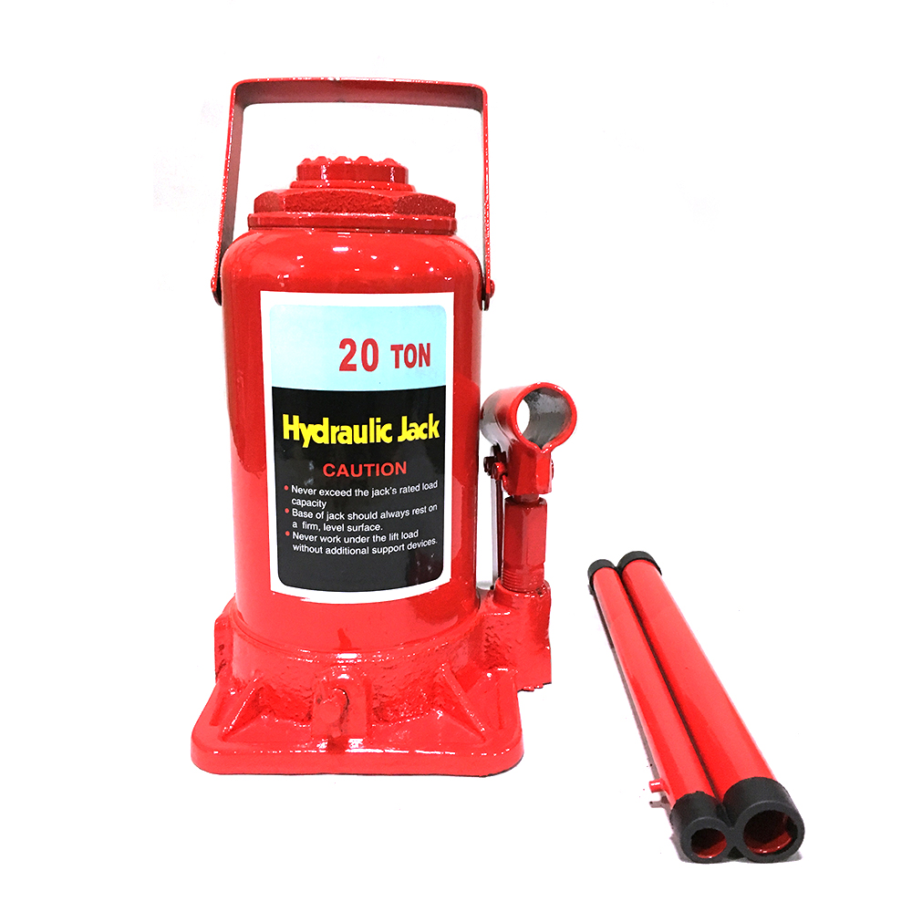 20T Ton Hydraulic Bottle Jack Axle Jack Automotive Hoist Lift Repair Manual  Tool