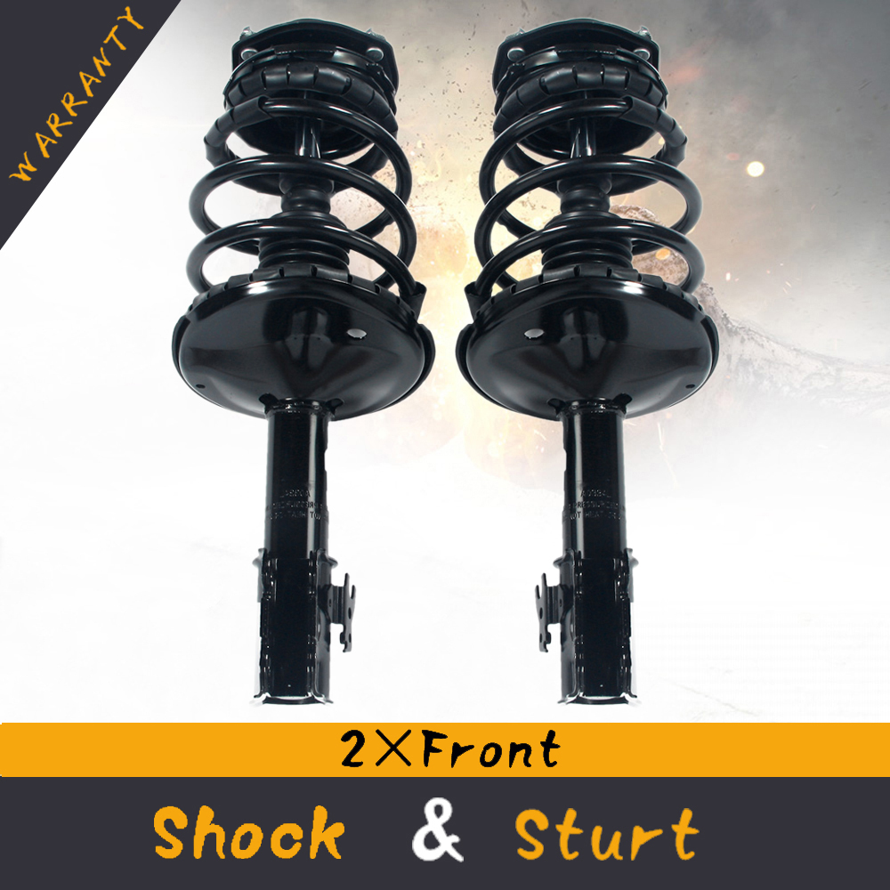 Details about 2×Front Complete Strut & Coil Springs Quick Install For  Toyota Camry 95-96