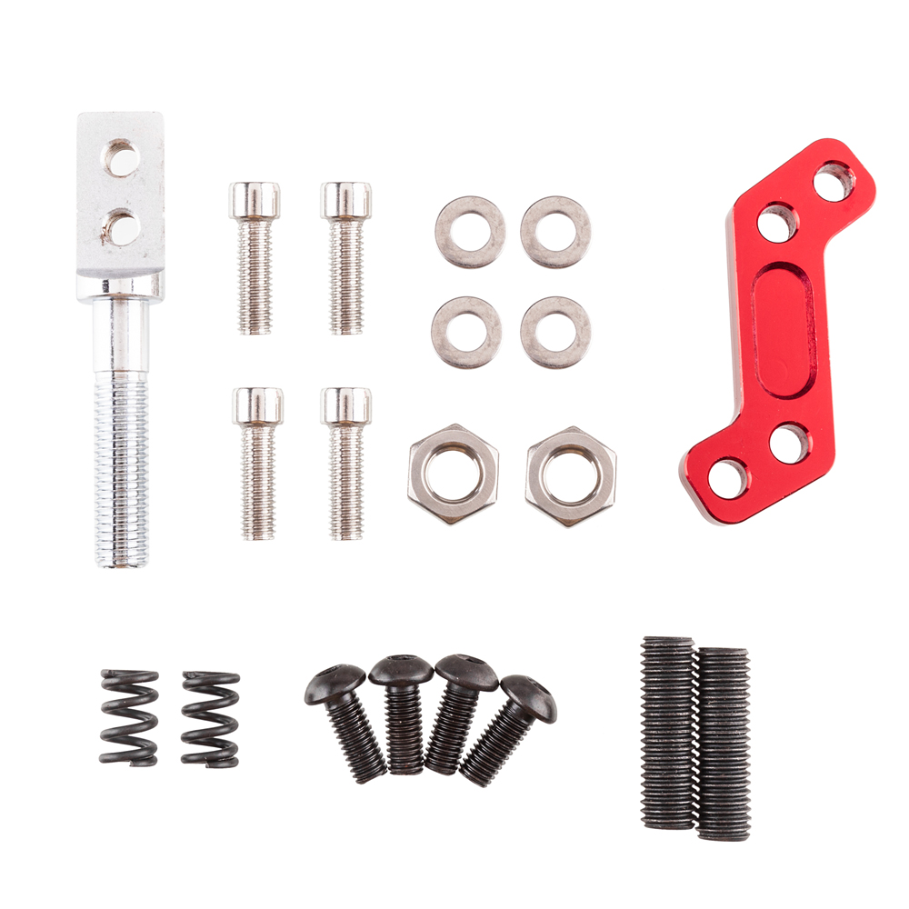 Details about Transmission Shift Kit FIT 83-04 FORD MUSTANG THUNDERBIRD  T5/T45 Red Aluminum