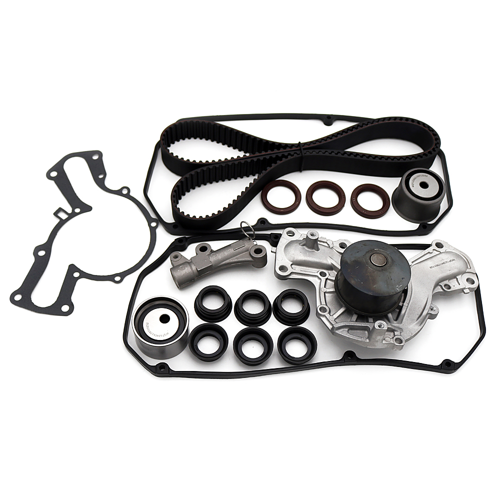 Timing Belt Kit Water Pump Valve Cover For 2001 2006 Mitsubishi Montero 35 Sohc